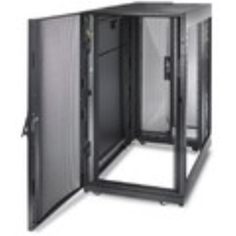 NetShelter SX 24U 600mm Wide x 1070mm Deep Enclosure with Sides Black