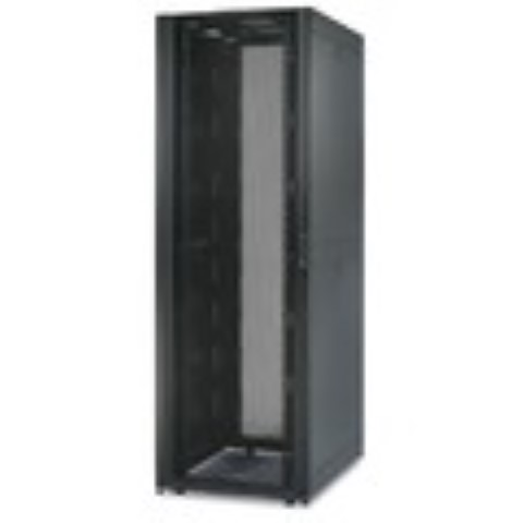 NetShelter SX 48U 750mm Wide x 1070mm Deep Enclosure with Sides Black