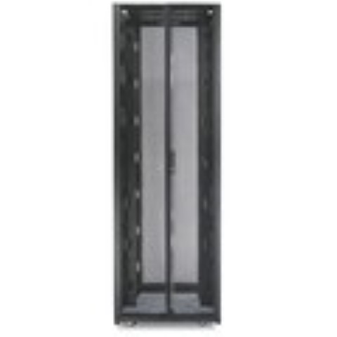 NetShelter SX 42U 750mm Wide x 1200mm Deep Enclosure with Sides Black