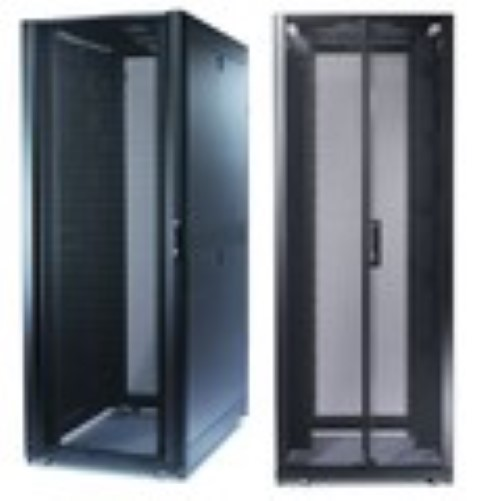 NetShelter SX 48U 750mm Wide x 1200mm Deep Enclosure with Sides Black