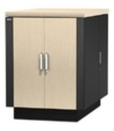 NetShelter CX 18U Secure Soundproof Server Room in a Box Enclosure International